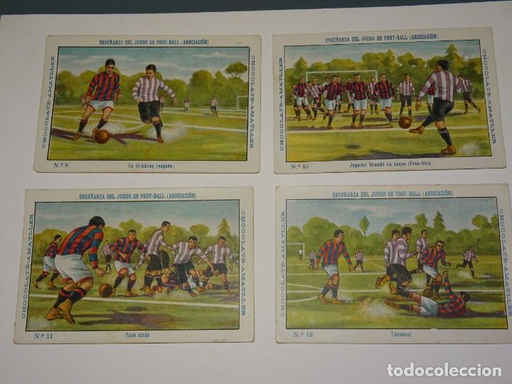 Cromos de Fútbol: COLECCION COMPLETA - ENSEÑANZA DEL JUEGO DE FOOT-BALL ASOCIACION , COLECCION DE 25 CROMOS , AÑOS 20 - Foto 4 - 265460574