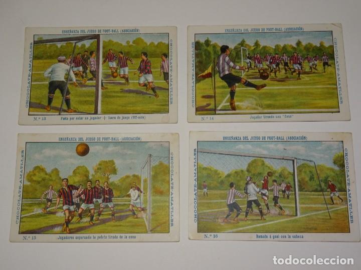 Cromos de Fútbol: COLECCION COMPLETA - ENSEÑANZA DEL JUEGO DE FOOT-BALL ASOCIACION , COLECCION DE 25 CROMOS , AÑOS 20 - Foto 5 - 265460574