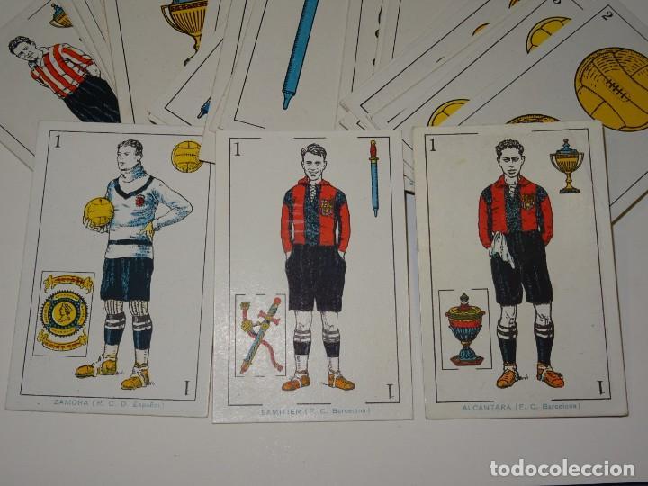 Cromos de Fútbol: ANTIGUA BARAJA AÑOS 20 - FUTBOL CHOCOLATES DE A. AMATLLER COMPLETA, SAMITIER, ALCANTARA, SAMITIER - Foto 2 - 265464149