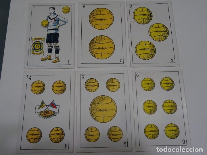 Cromos de Fútbol: ANTIGUA BARAJA AÑOS 20 - FUTBOL CHOCOLATES DE A. AMATLLER COMPLETA, SAMITIER, ALCANTARA, SAMITIER - Foto 3 - 265464149