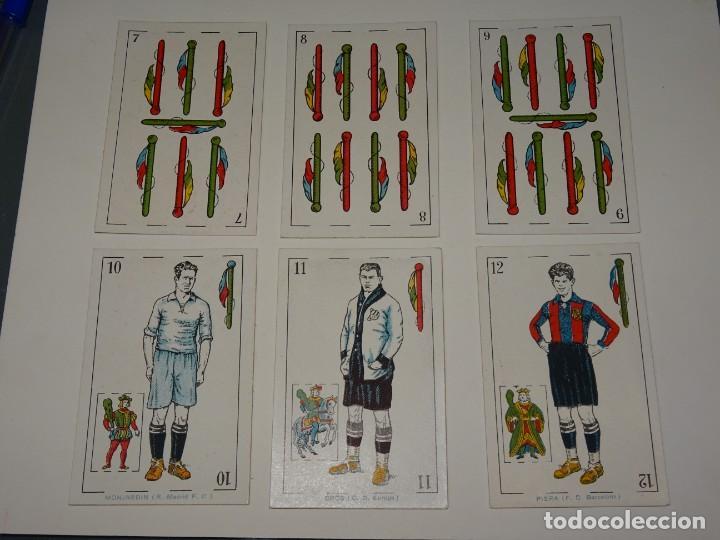 Cromos de Fútbol: ANTIGUA BARAJA AÑOS 20 - FUTBOL CHOCOLATES DE A. AMATLLER COMPLETA, SAMITIER, ALCANTARA, SAMITIER - Foto 6 - 265464149