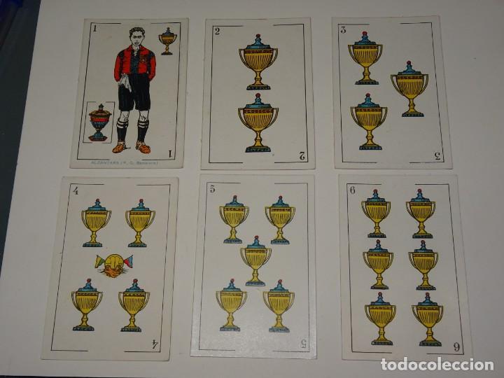 Cromos de Fútbol: ANTIGUA BARAJA AÑOS 20 - FUTBOL CHOCOLATES DE A. AMATLLER COMPLETA, SAMITIER, ALCANTARA, SAMITIER - Foto 9 - 265464149