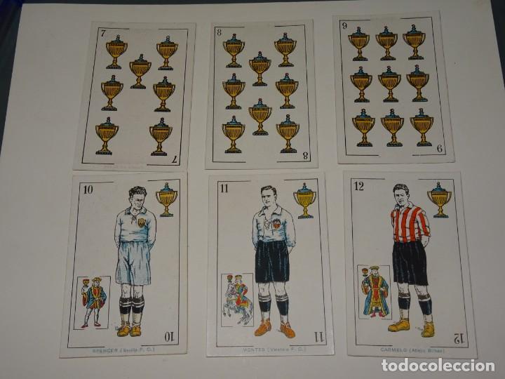 Cromos de Fútbol: ANTIGUA BARAJA AÑOS 20 - FUTBOL CHOCOLATES DE A. AMATLLER COMPLETA, SAMITIER, ALCANTARA, SAMITIER - Foto 10 - 265464149