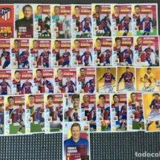 Cromos de Fútbol: ESTE 36 CROMOS (PLANTILLA COMPLETA)+LOS 4 CHICLES BARCELONA LIGA 2020 2021 ESTE PANINI LEER. Lote 265653024