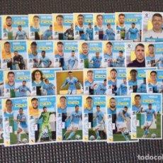 Cromos de Fútbol: ESTE 31 CROMOS (PLANTILLA COMPLETA)+LOS 4 CHICLES CELTA LIGA 2020 2021 ESTE PANINI LEER. Lote 265655829