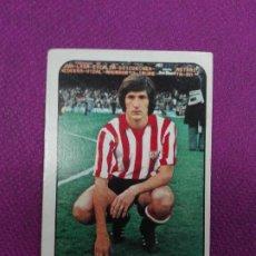 Cartes à collectionner de Football: JMFC - CROMO LIGA ESTE NUNCA PEGADO, 78 - 79, 78/79 - ATHLETIC CLUB DE BILBAO - ESCALZA. Lote 265672359