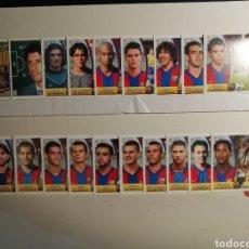 Cromos de Fútbol: CROMOS LIGA ESTE 03 04 F.C.BARCELONA INCLUIDO INIESTA ROOKIE. Lote 265918993