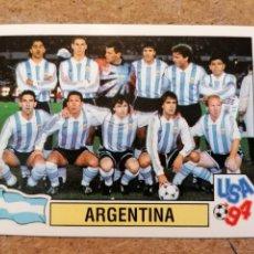 Cromos de Fútbol: PANINI WORLD CUP USA 94 ALINEACION DE ARGENTINA CON MARADONA Nº258 NUEVO SIN PEGAR DE SOBRE. Lote 265956738