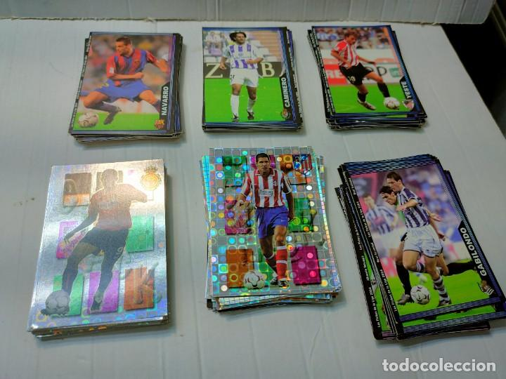 MUNDI CROMO SPORT LIGA 2004 LOTE 120 CROMOS ALGUNOS MUY BUENOS (Coleccionismo Deportivo - Álbumes y Cromos de Deportes - Cromos de Fútbol)