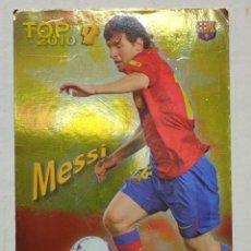 Cromos de Fútbol: MUNDI CROMO 2010 MESSI TOP 7 NÚMERO 595. Lote 266360268