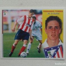 Cromos de Fútbol: CROMO ESTE 02 03 FERNANDO TORRES AT. MADRID ROOKIE NUEVO SIN PEGAR 2002 2003. Lote 277308353