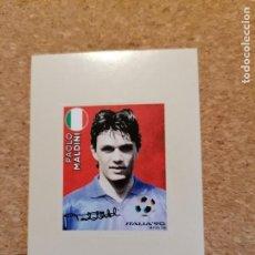 Cromos de Fútbol: PANINI FIFA WORLD CUP RUSIA 2018 MALDINI C-6 LEGENDS ITALIA 90 NUEVO SIN PEGAR. Lote 266684503