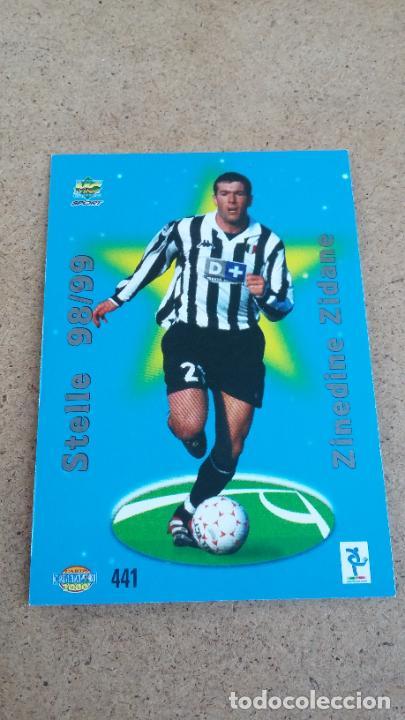 Cromos de Fútbol: MUNDICROMO CALCIATORI 2000 - 441 ZIDANE ( STELLE 98/99 ) JUVENTUS - CP4 - Foto 2 - 267066364