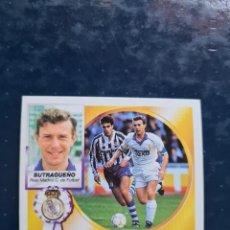 Cromos de Futebol: BUTRAGUEÑO - REAL MADRID - 1994 1995 94 95 - CROMO EDICIONES ESTE - NUNCA PEGADO. Lote 267076549