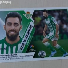Cromos de Fútbol: EDICIONES ESTE 2019 20 FICHAJE Nº 53 BORJA IGLESIAS - CROMO SIN PEGAR. Lote 295508783