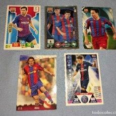 Cartes à collectionner de Football: LOTE DE CROMOS DE FUTBOL MESSI INIESTA NEYMAR. Lote 267319224