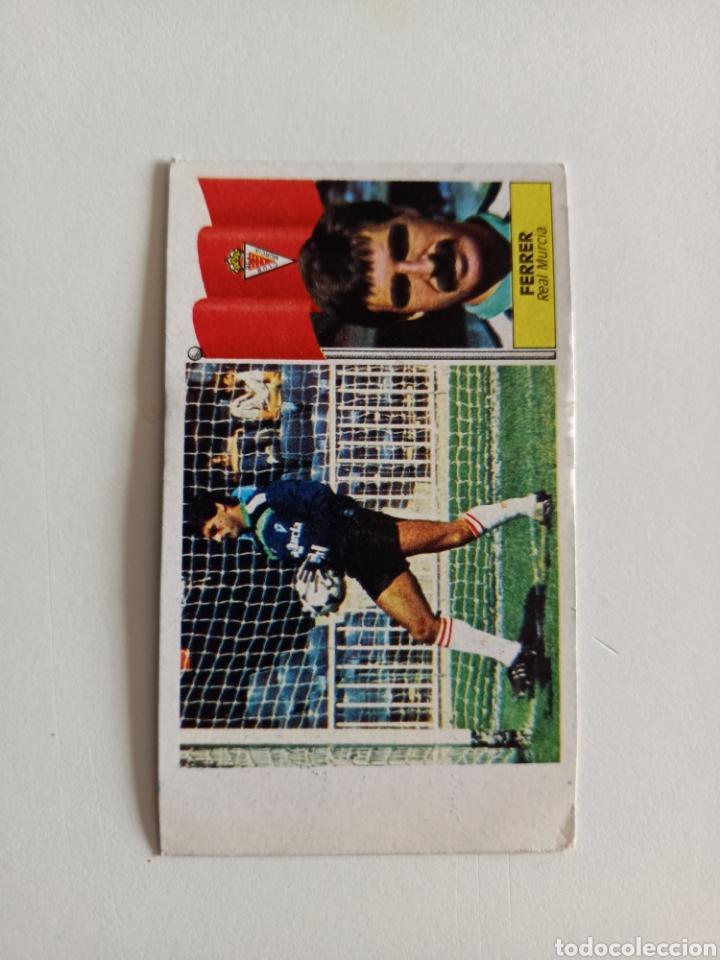 Cromos de Fútbol: RAREZA ERROR CROMO FERRER BAJA LIGA 86-87 NUNCA PEGADO - Foto 3 - 267381879
