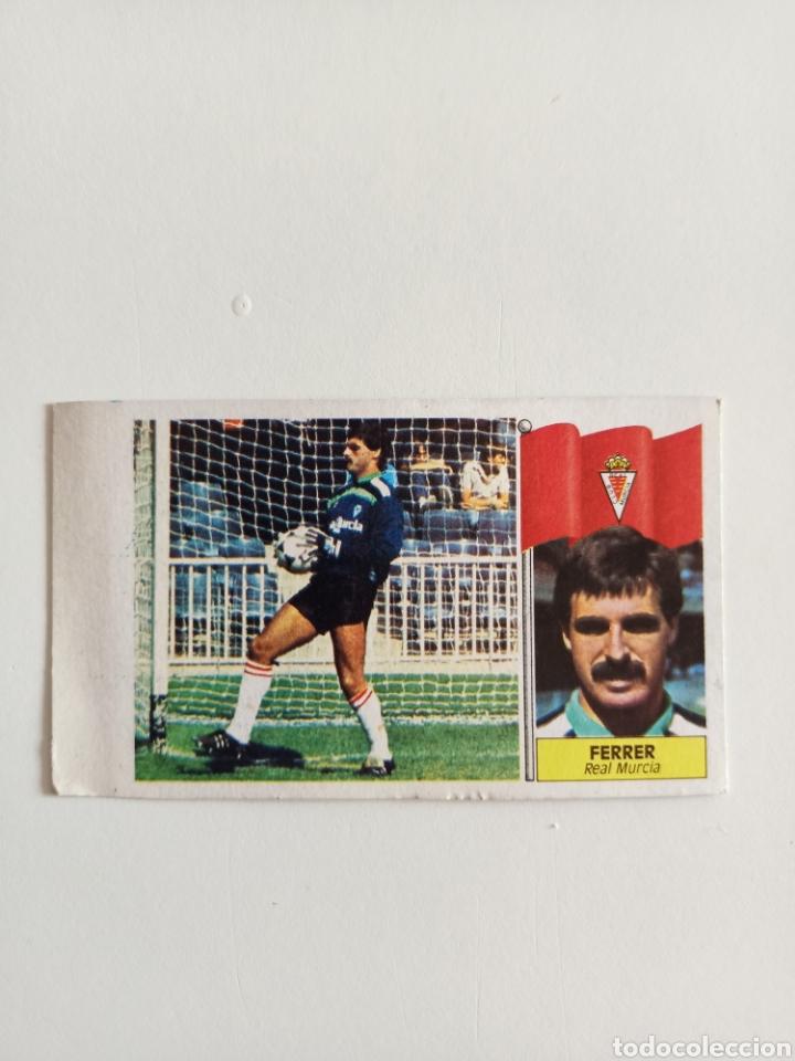 RAREZA ERROR CROMO FERRER BAJA LIGA 86-87 NUNCA PEGADO (Coleccionismo Deportivo - Álbumes y Cromos de Deportes - Cromos de Fútbol)