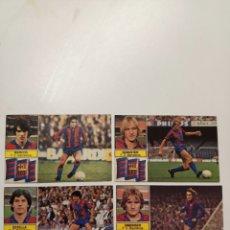 Cromos de Fútbol: RAREZA ERROR LIGA 82-83 SIN FCB MARCOS,SIMONSEN,ESTELLA,SCHUSTER BARCELONA IMPOLUTOS NUEVOS. Lote 267412144