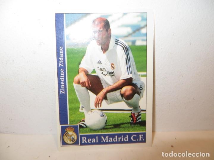 MUNDICROMO 2001 2002 01 02 - 17 ZIDANE ( ROOKIE ) - REAL MADRID,PERFECTO ESTADO (Coleccionismo Deportivo - Álbumes y Cromos de Deportes - Cromos de Fútbol)