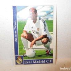 Cromos de Fútbol: MUNDICROMO 2001 2002 01 02 - 17 ZIDANE ( ROOKIE ) - REAL MADRID,PERFECTO ESTADO. Lote 267484789