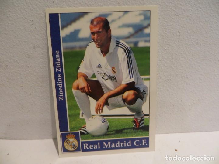 Cromos de Fútbol: MUNDICROMO 2001 2002 01 02 - 17 ZIDANE ( ROOKIE ) - REAL MADRID,PERFECTO ESTADO - Foto 2 - 267484789