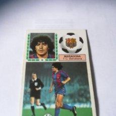 Figurine di Calcio: CROMO MARADONA T. 83 84. Lote 267485659