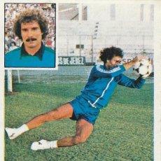 Cromos de Fútbol: 1981 1982 ED.ESTE JESUS PORTERO COLOCA DEL CADIZ . DE ALBUM. Lote 267501499