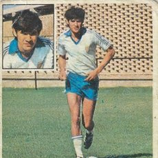 Cromos de Fútbol: 1981 1982 ED.ESTE AMARILLA COLOCA DEL ZARAGOZA. DESPEGADO DE ALBUM. Lote 267502649