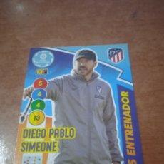 Cromos de Fútbol: #474 SIMEONE PLUS ENTRENADOR ADRENALYN 2020-2021 AT DE MADRID. Lote 267594049