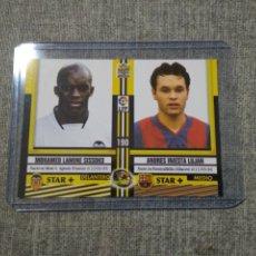 Cromos de Futebol: MUNDICROMO TOP 2005- INIESTA - FC BARCELONA. Lote 268152319