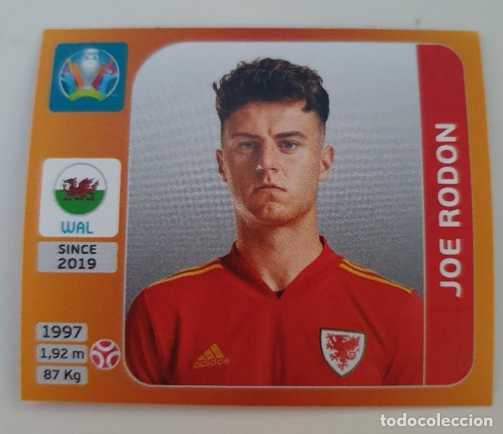 CROMO Nº 106 JOE RODON GALES EURO TOURNAMENT 2020 (Coleccionismo Deportivo - Álbumes y Cromos de Deportes - Cromos de Fútbol)