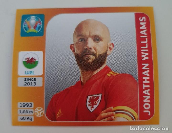 CROMO Nº 114 JONATHAN WILLIAMS GALES EURO TOURNAMENT 2020 (Coleccionismo Deportivo - Álbumes y Cromos de Deportes - Cromos de Fútbol)