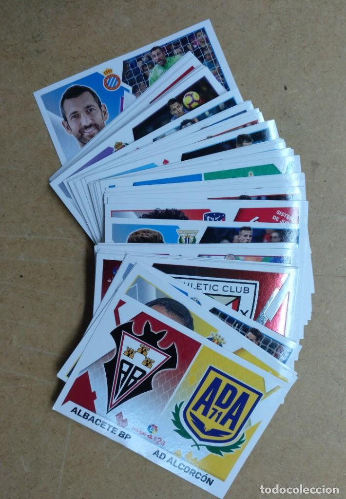 LOTE DE UNOS 60 CROMOS FUTBOL LIGA 2019-20 - TODOS DIFERENTES (Coleccionismo Deportivo - Álbumes y Cromos de Deportes - Cromos de Fútbol)