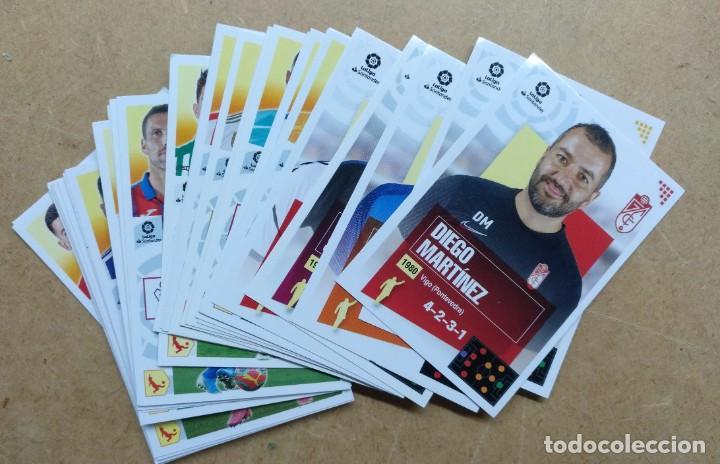 LOATE DE UNOS 40 CROMOS DE FOTBOL LIGA 2020-21 - TODOS DIFERENTES (Coleccionismo Deportivo - Álbumes y Cromos de Deportes - Cromos de Fútbol)