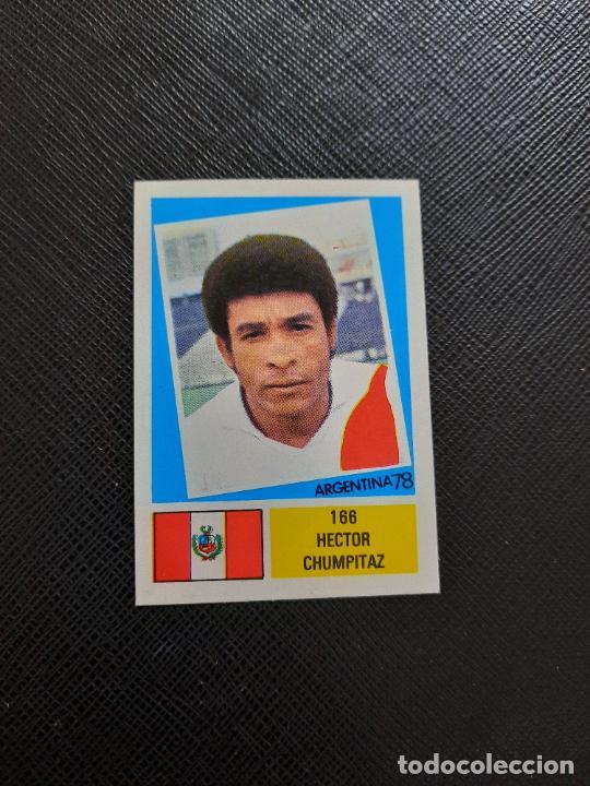 HECTOR CHAMPITAZ PERU FHER ARGENTINA MUNDIAL 1978 CROMO FUTBOL 78 - DESPEGADO - 166 (Coleccionismo Deportivo - Álbumes y Cromos de Deportes - Cromos de Fútbol)