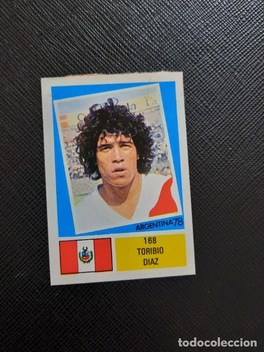 TORIBIO DIAZ PERU FHER ARGENTINA MUNDIAL 1978 CROMO FUTBOL 78 - DESPEGADO - 168 (Coleccionismo Deportivo - Álbumes y Cromos de Deportes - Cromos de Fútbol)