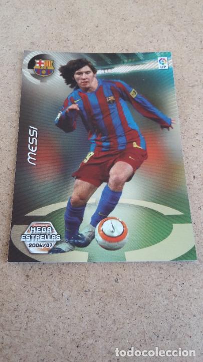 MEGACRACKS 2006/2007 06/07 – PANINI - 386 MESSI ( METALIZADO ) - FC. BARCELONA - 161 (Coleccionismo Deportivo - Álbumes y Cromos de Deportes - Cromos de Fútbol)