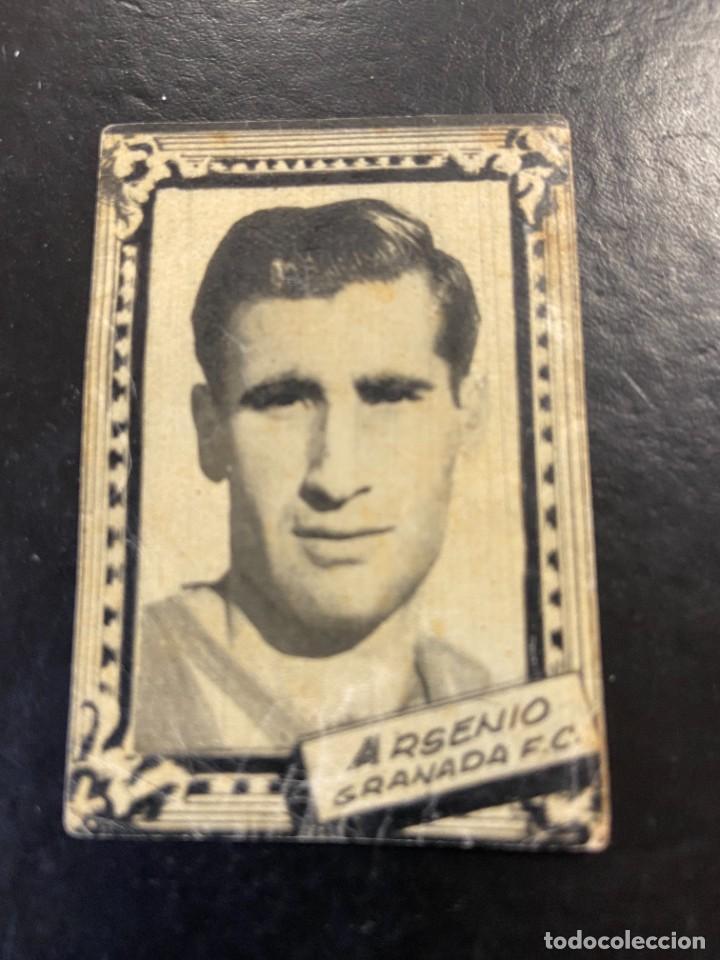 ARSENIO GRANADA FHER 1959 1960 59 60 (Coleccionismo Deportivo - Álbumes y Cromos de Deportes - Cromos de Fútbol)