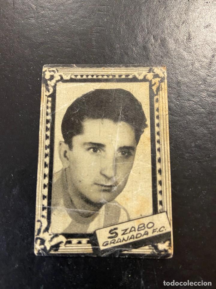SZABO GRANADA FHER 1959 1960 59 60 (Coleccionismo Deportivo - Álbumes y Cromos de Deportes - Cromos de Fútbol)