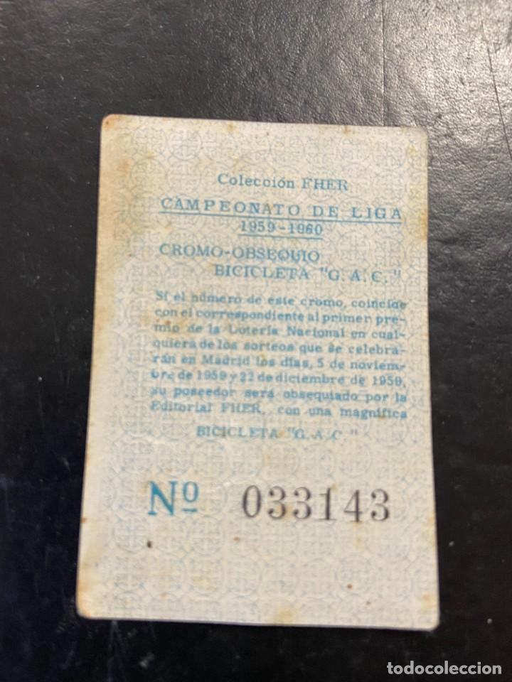 Cromos de Fútbol: szabo granada fher 1959 1960 59 60 - Foto 2 - 268726804