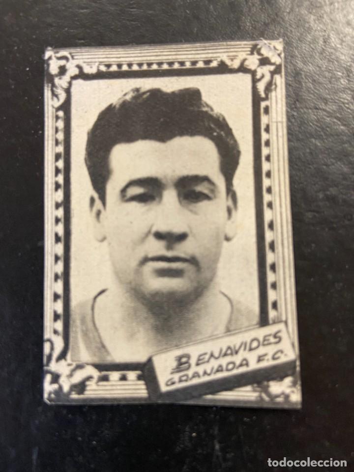 BENAVIDES GRANADA FHER 1959 1960 59 60 (Coleccionismo Deportivo - Álbumes y Cromos de Deportes - Cromos de Fútbol)