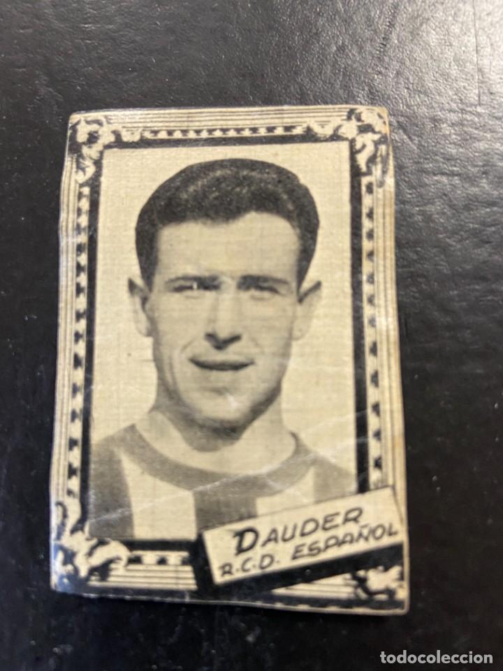 DAUDER ESPAÑOL FHER 1959 1960 59 60 (Coleccionismo Deportivo - Álbumes y Cromos de Deportes - Cromos de Fútbol)