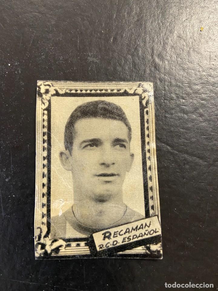 RECAMAN ESPAÑOL FHER 1959 1960 59 60 (Coleccionismo Deportivo - Álbumes y Cromos de Deportes - Cromos de Fútbol)