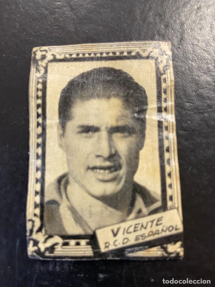 VICENTE ESPAÑOL FHER 1959 1960 59 60 (Coleccionismo Deportivo - Álbumes y Cromos de Deportes - Cromos de Fútbol)