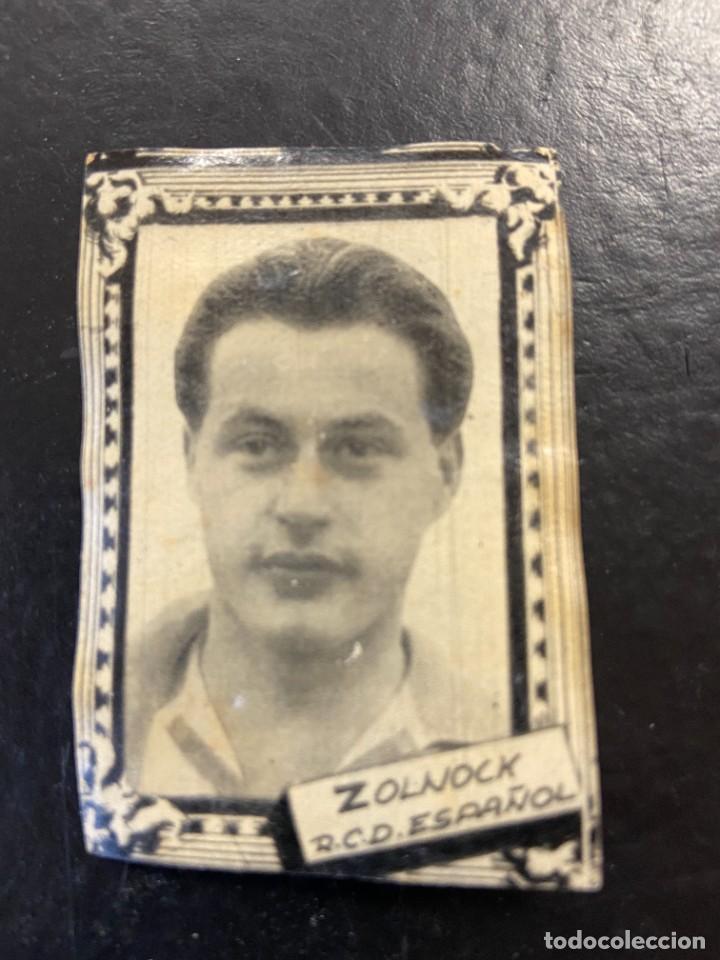 ZOLNOCK ESPAÑOL FHER 1959 1960 59 60 (Coleccionismo Deportivo - Álbumes y Cromos de Deportes - Cromos de Fútbol)