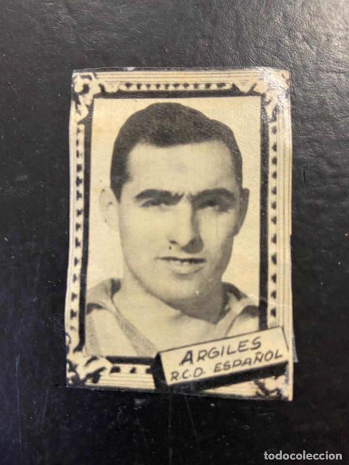 ARGILES ESPAÑOL FHER 1959 1960 59 60 (Coleccionismo Deportivo - Álbumes y Cromos de Deportes - Cromos de Fútbol)