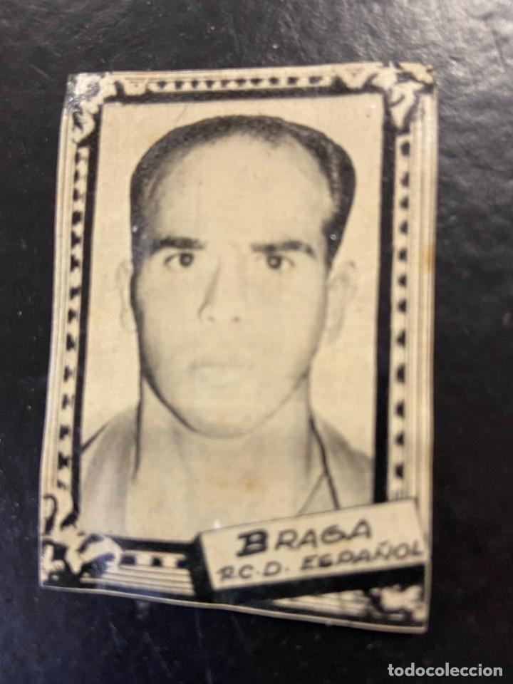BRAGA ESPAÑOL FHER 1959 1960 59 60 (Coleccionismo Deportivo - Álbumes y Cromos de Deportes - Cromos de Fútbol)