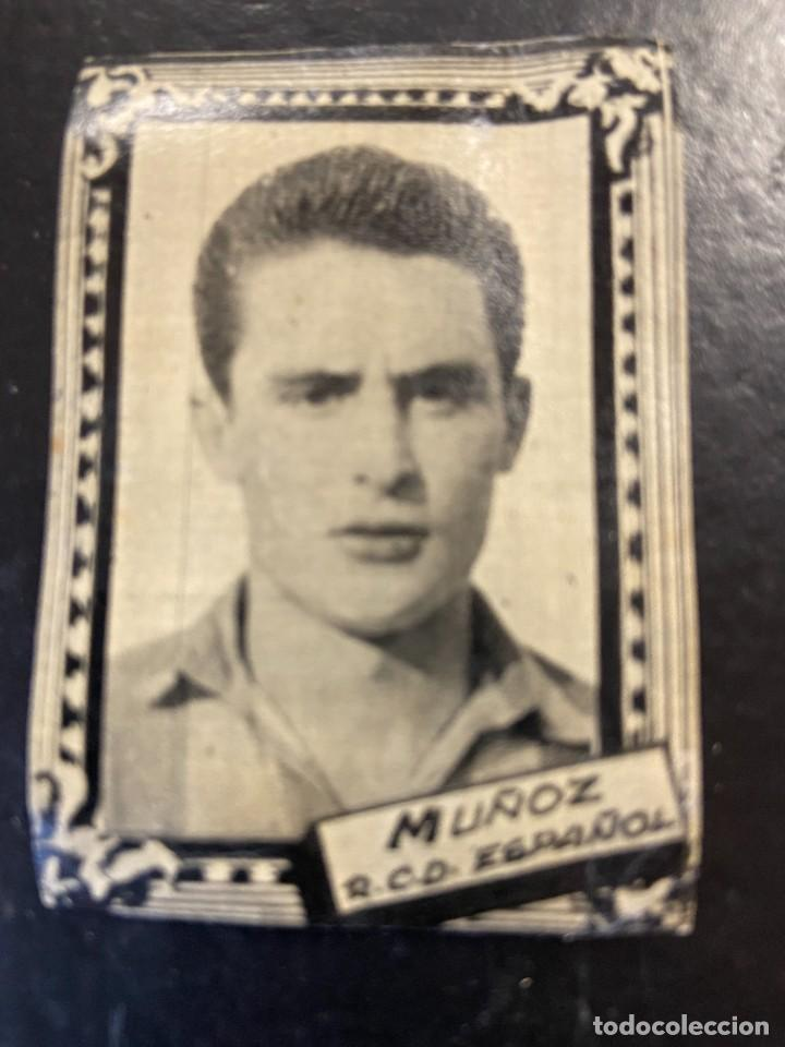 MUÑOZ ESPAÑOL FHER 1959 1960 59 60 (Coleccionismo Deportivo - Álbumes y Cromos de Deportes - Cromos de Fútbol)