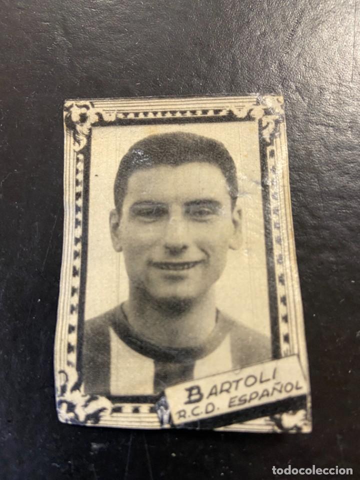 BARTOLI ESPAÑOL FHER 1959 1960 59 60 (Coleccionismo Deportivo - Álbumes y Cromos de Deportes - Cromos de Fútbol)